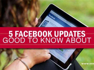 5 Facebook Updates