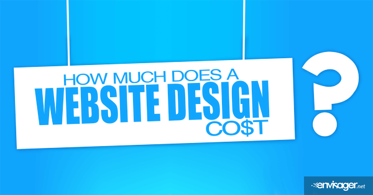 How Much Does A Website Design Cost?