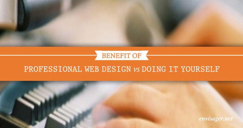 Professional Web Design vs Doing It Yourself