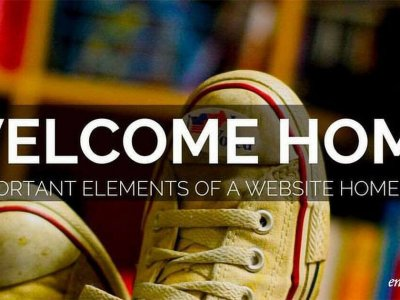 Anatomy Of A Website Homepage