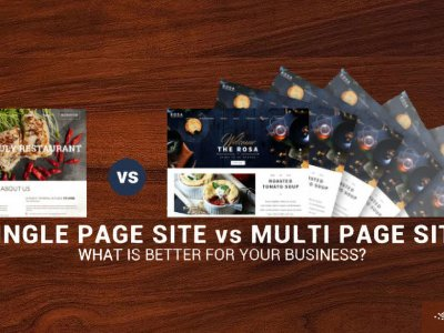 Single Page Site vs. Multi Page Site