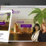Hair Salon in Solana Beach Launches New Website