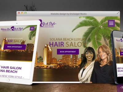 Hair Salon in Solana Beach Launches New Website