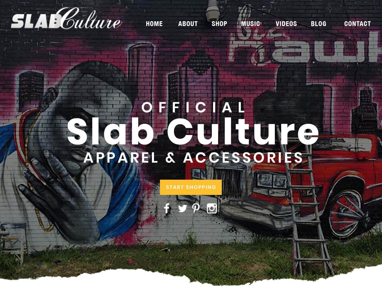 Slab Culture Houston Website Design