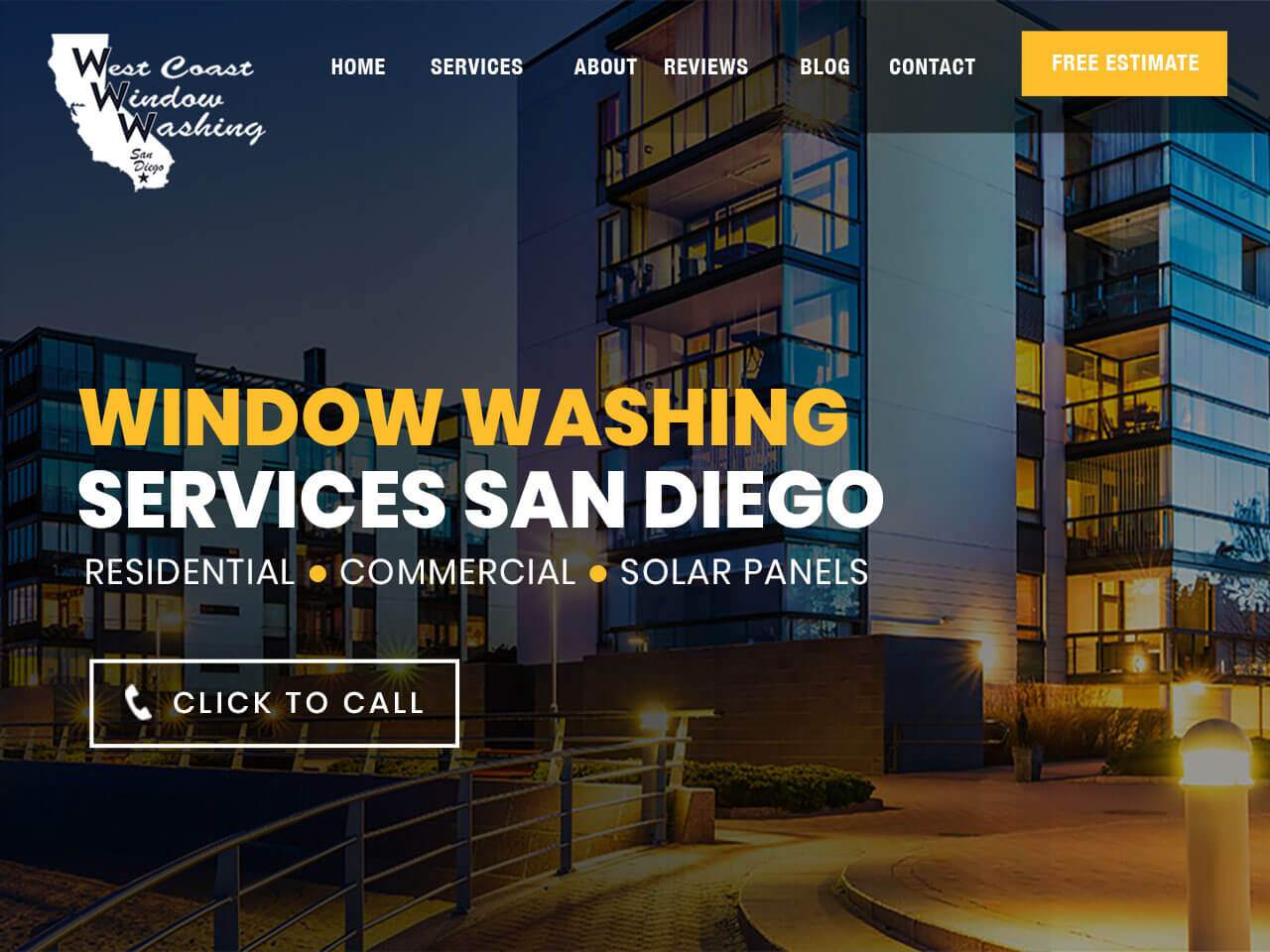 West Coast Window Washing San Diego