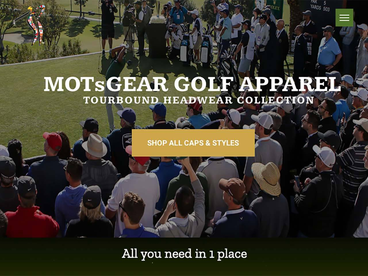 MOTsGEAR Golf Apparel