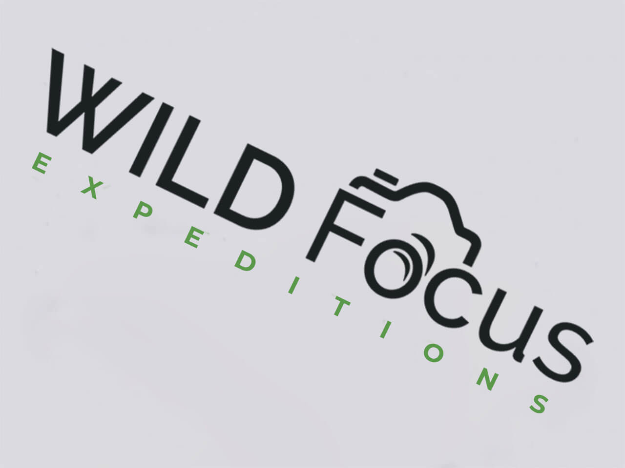 Logo Design Wild Focus Expeditions