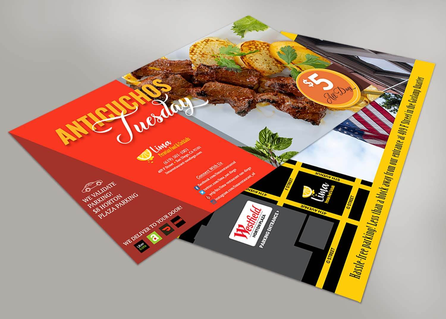 Postcard Designs Restaurant