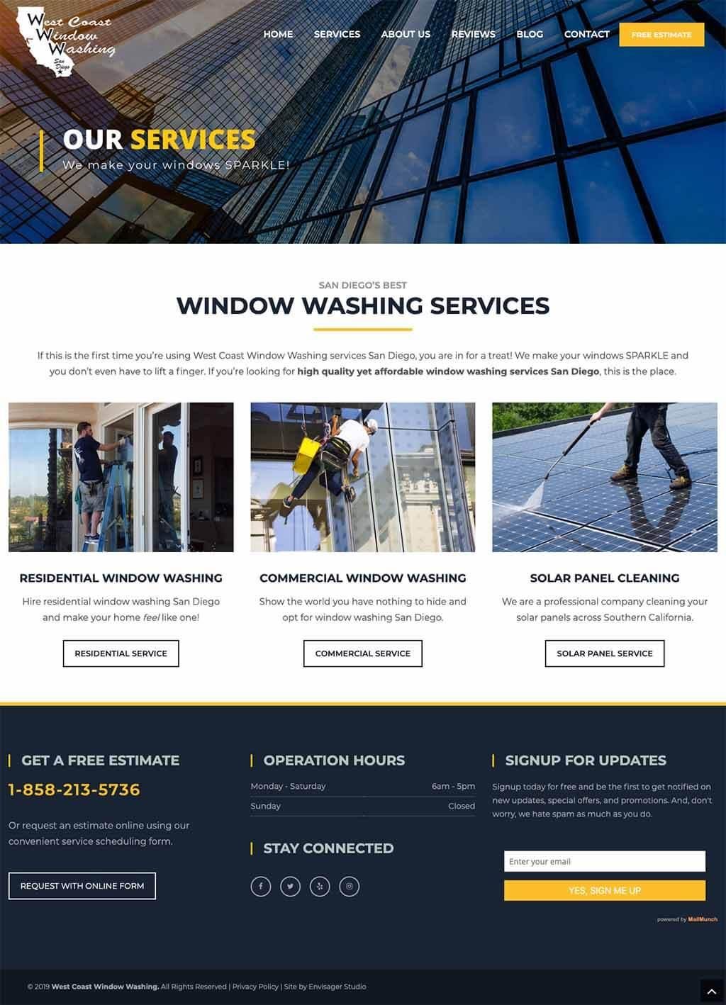 West Coast Window Washing San Diego