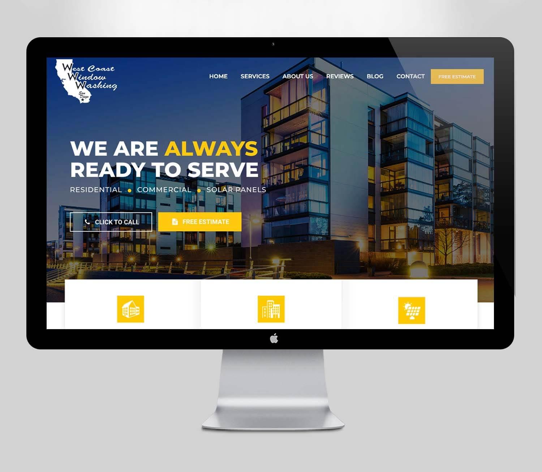 Window Washing Website