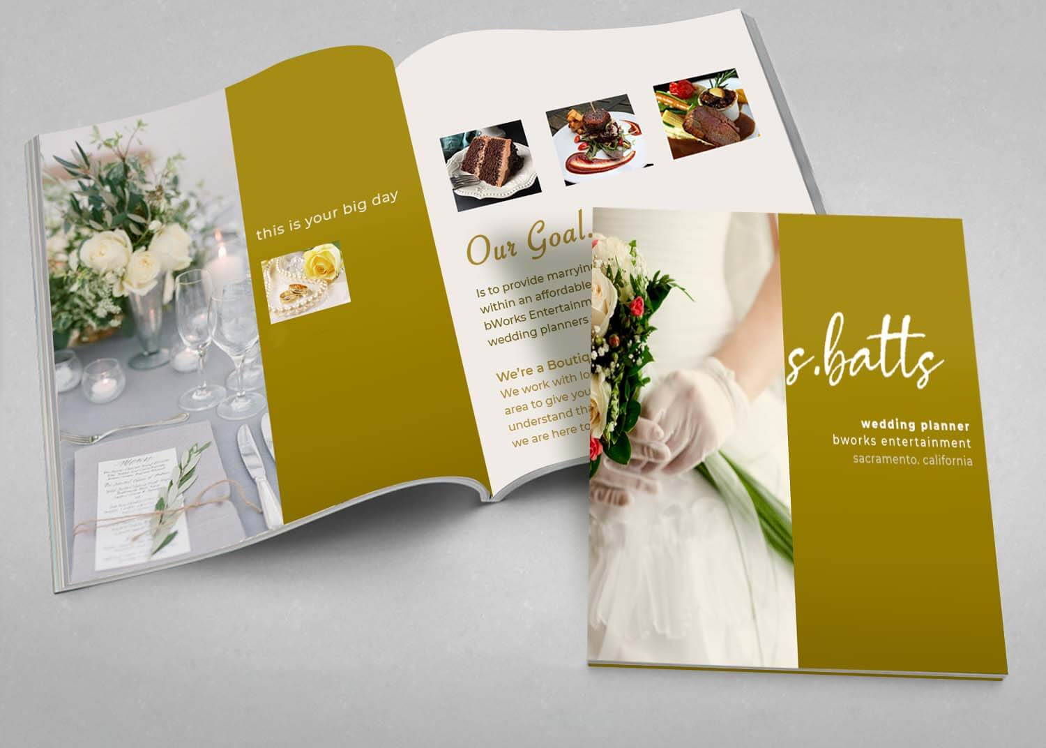 Wedding Guide Book Design