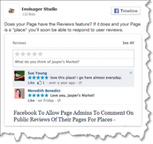facebook news feed updated