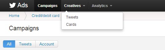 twitter-creatives-nav-bar