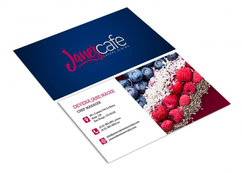 Website Design Agency for Jane's Cafe Mission Valley