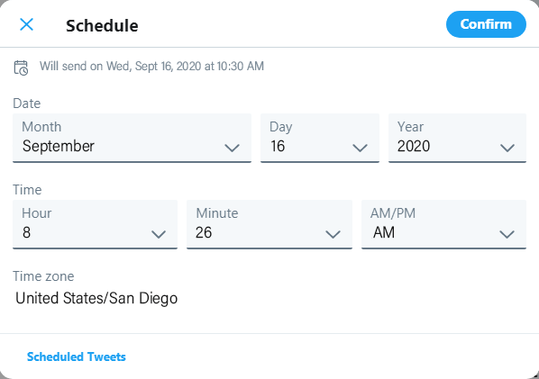 Small Business Twitter Marketing Tips: Schedule Your Tweets