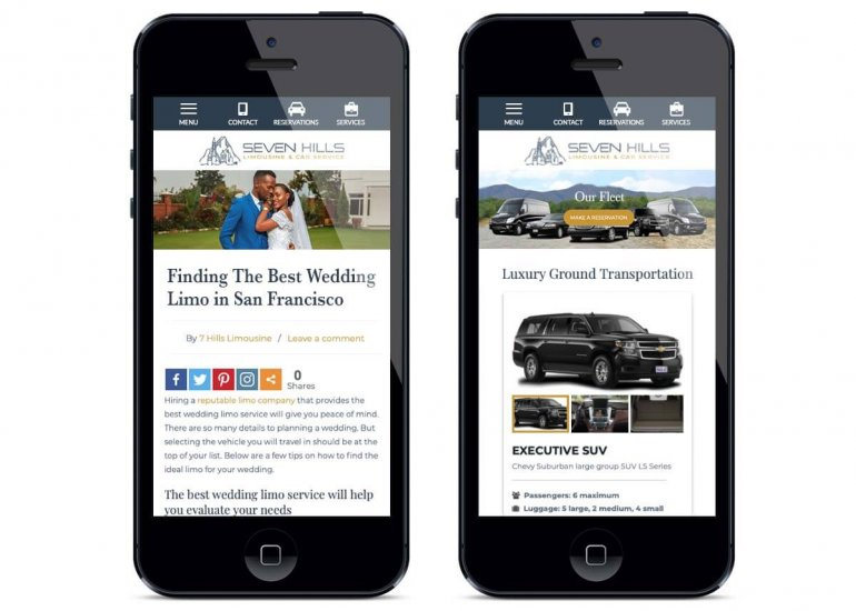 Limo Website Design Services