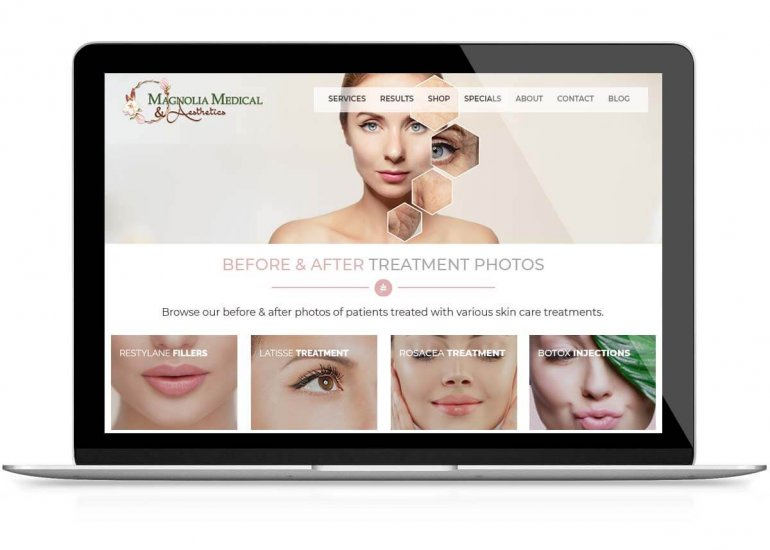 Spa Website Examples