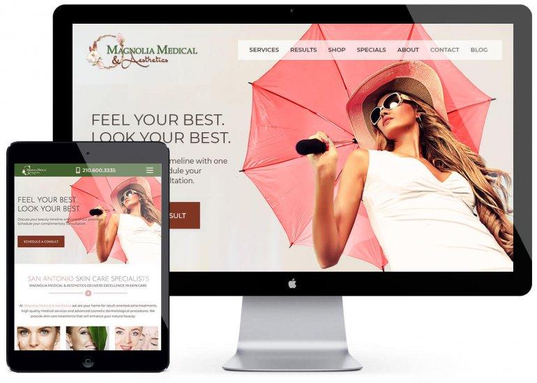 Magnolia Medical & Aesthetics Med Spa Design