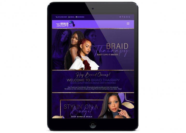 Hair Braiding Styles - Braid Thairapy