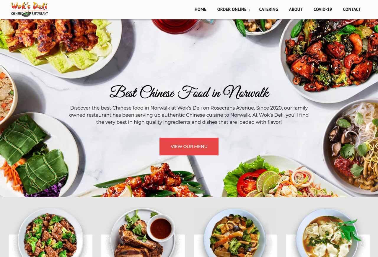Restaurant Websites by Envisager Studio