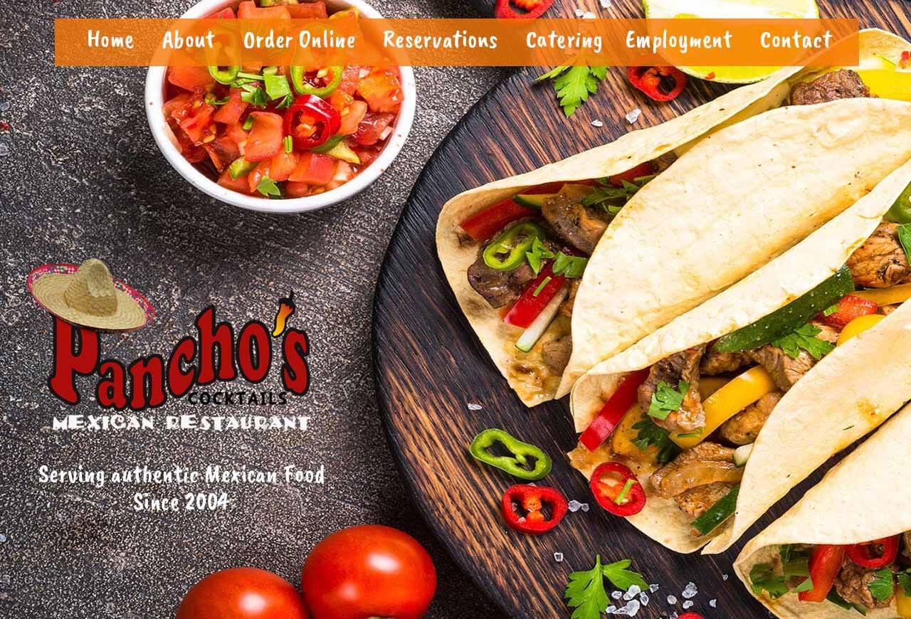 Restaurant Website Design | Envisager Studio